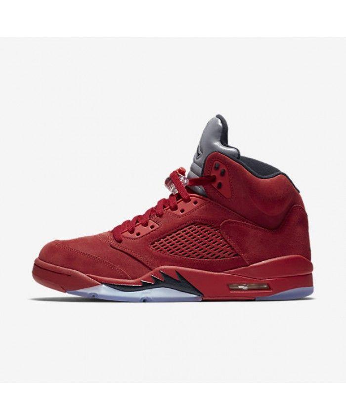 Air Jordan 5 Retro Men's Shoe, by Nike Size 17 (Red)