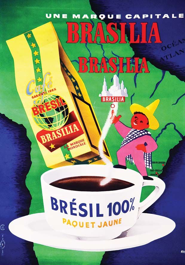 café Brasilia - 1960's - (Emmanuel Gaillard) -