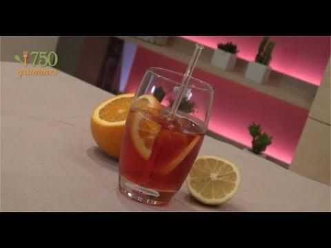 Recette de l'Américano -     2 cl de Vermouth rouge (Type Martini)  5 cl de Campari  De l'eau gazeuse  1/2 tranche d'orange  1/2 tranche de citron