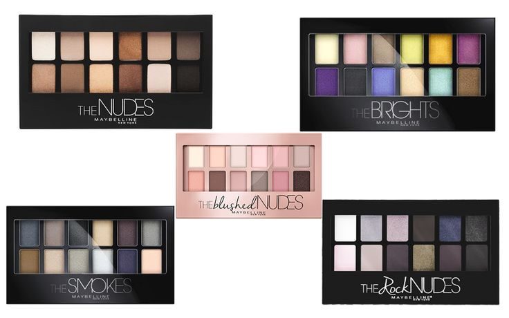 """Reseña: Paleta """"The Blushed Nudes"""" de Maybelline."""
