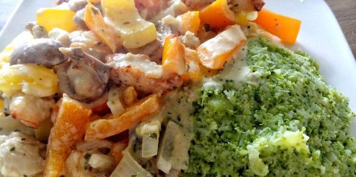 Deze kip met boursin ovenschotel zit boordevol verse groenten en is eigenlijk ontzettend simpel om te maken. Gezond én lekker!