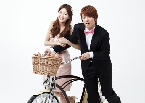 "YongSeo / Goguma (Yonghwa CNBlue and Seohyun SNSD) Couple ~ ""We Got Married"" Korean variety show @MBC"