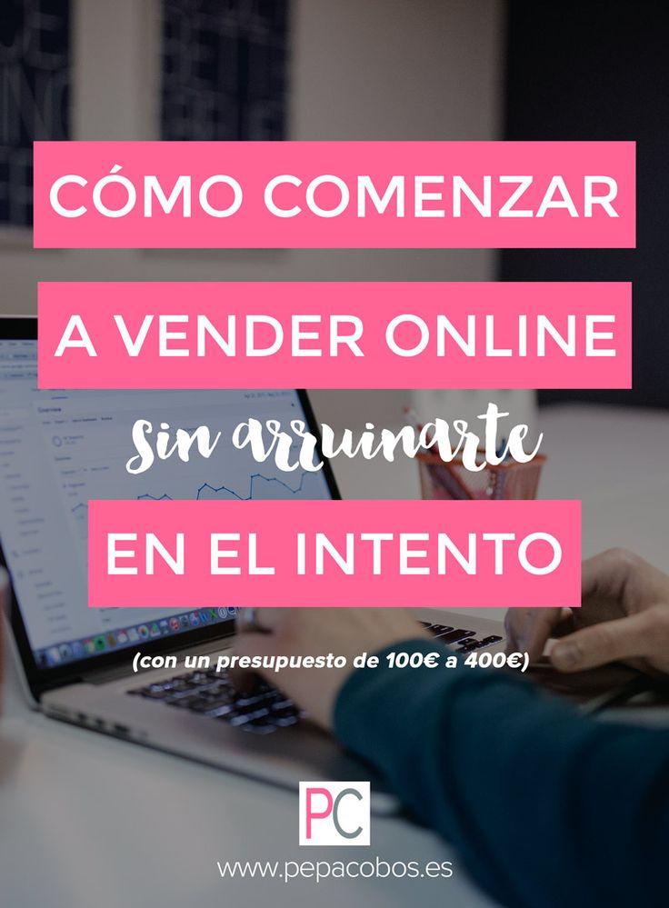 Curso GRATIS para comenzar a vender online con un presupuesto muy ajustado. 100% práctico y paso a paso. ¡Anímate y saca adelante esa idea que tienes en la cabeza! #estrategia #emprender #marketingonline