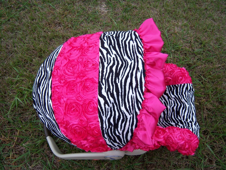 Zebra Baby Car Seat Covers