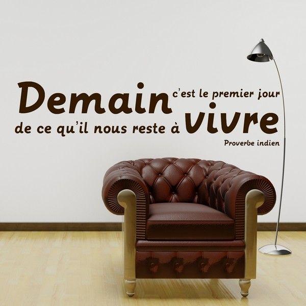 17 best images about stickers citations on pinterest. Black Bedroom Furniture Sets. Home Design Ideas