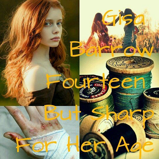 Gisa Barrow. Red Queen by Victoria Aveyard. IG||@scarlet._.guard