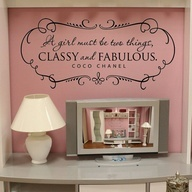 """baby girl nursery ideas - Chanel. A girl """"should"""" be two things CLASSY AND FABULOUS!"""