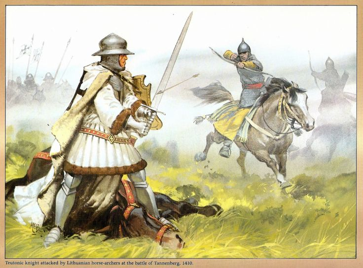 Battle of Tannenberg 1410 - Teutonic Knights vs Polish and Lithuanian Knights