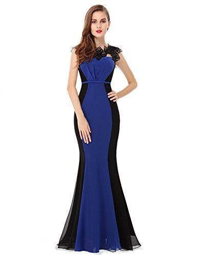Ever Pretty Womens Formal Wedding Guest Dress 14 US Sapphire Blue *** Be sure to check out this awesome product.