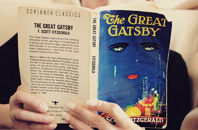 The Great Gatsby.  Holds a place in my heart very dear.