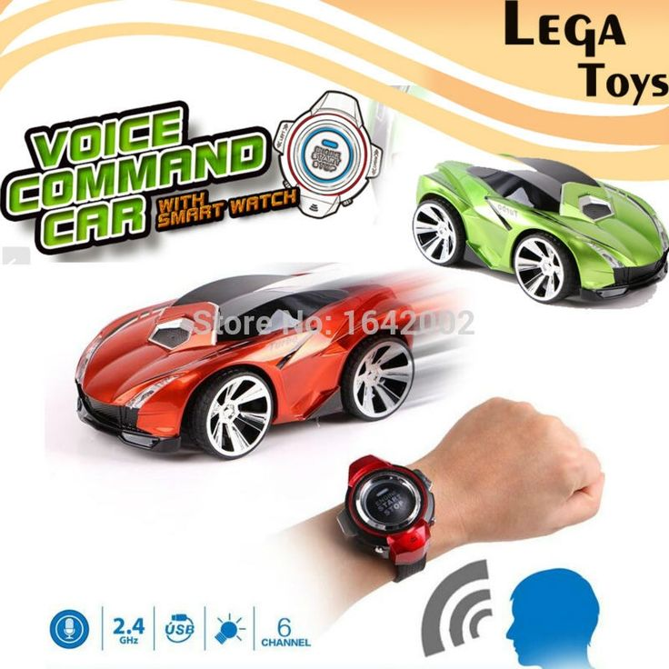 42.00$  Watch here - http://alig0f.shopchina.info/1/go.php?t=32772173114 - Voice Command Car 6 Channels RC Car With Smart Watch Voice Control Mini Remote Control Cars rc model toy For Children  #buyonline