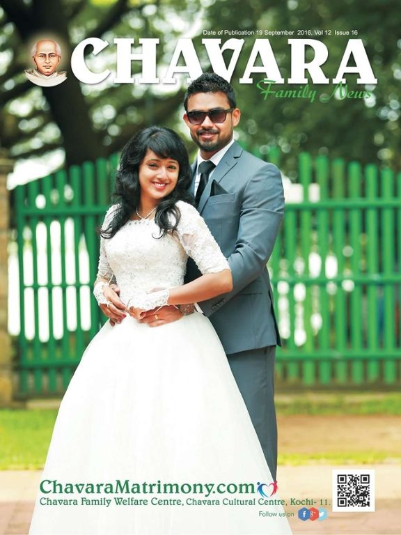 #ChavaraMatrimony  Chavara Family News September first edition e-magazine is now available online at this link: http://goo.gl/gxHYqJ
