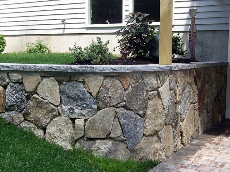 Cinder Block Retaining Wall With Fence On Top Ideas Design Ideas