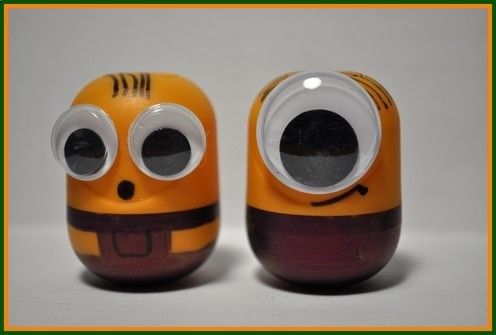 Minion Crafts for Kids - Make your own little minions!