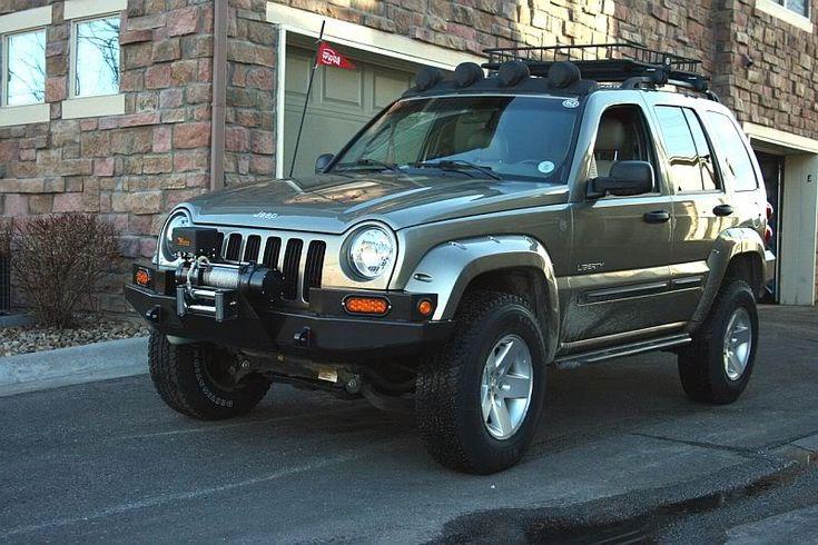 Lifted Jeep Cherokee >> Liberty KJ Matrix Brush Guard | and prototype on the KK ...