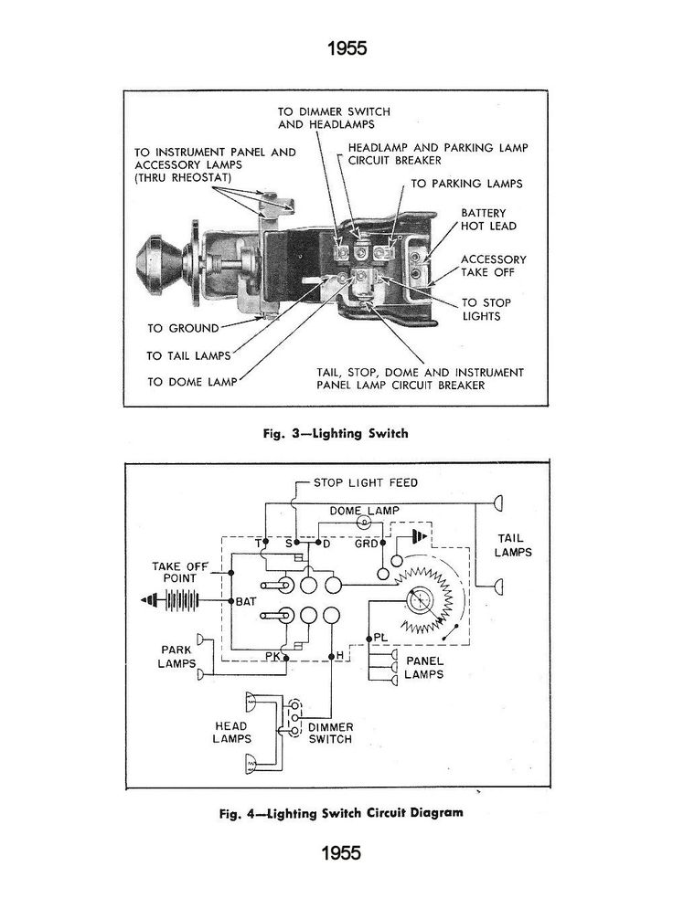 35 Ford Head Light Switch Wiring Diagram