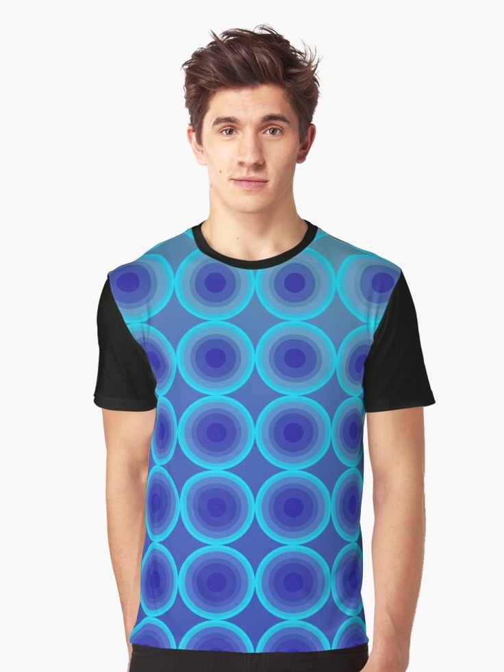 Retro 80's Style T-Shirt with Geometric Pattern and Vivid Colors by Scar Design. #geometric #tshirt #circles #1980 #retro #80s #tshirtfashion #clothing #art #style #fashion #gifts #giftsforhim #giftsforher #design #popart #onlineshopping #popular #tshirtdesign #39;s #colorful #music #edm #dancemusic #electronicmusic #housemusic #house #edmfamily #edmlife #edmpartypeople #family #kids #cool #geometry #blue #modern  • Also buy this artwork on apparel, stickers, phone cases, and more.