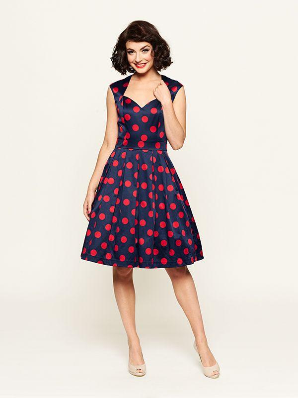 The Lady Bug Spot Dress