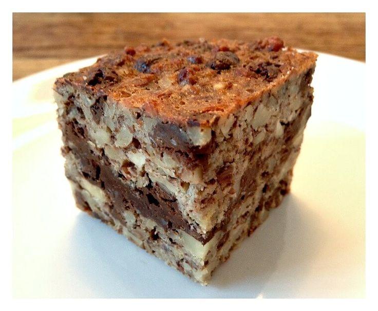 Nøddekage Med Chokolade - når smagen skal være syndig! Jeg elsker en god tung kage med kæmpestore chokolade stykker.. Derfor er denne på min favoritliste!
