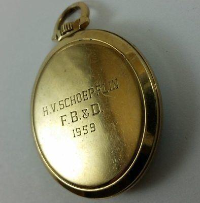H. V. Schoepflin Memorabilia - Vintage Hamilton Pocket Watch - 10K 23J