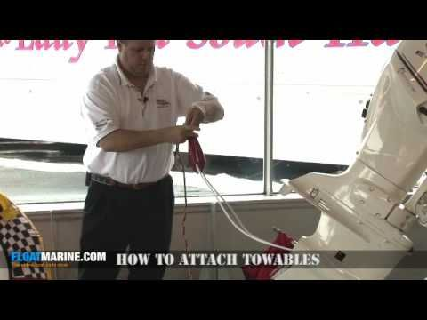 This www.floatmarine.com video shows how to attach and secure towables on your boat. Float marine is a premier retailer of boat parts and boat supplies with ...
