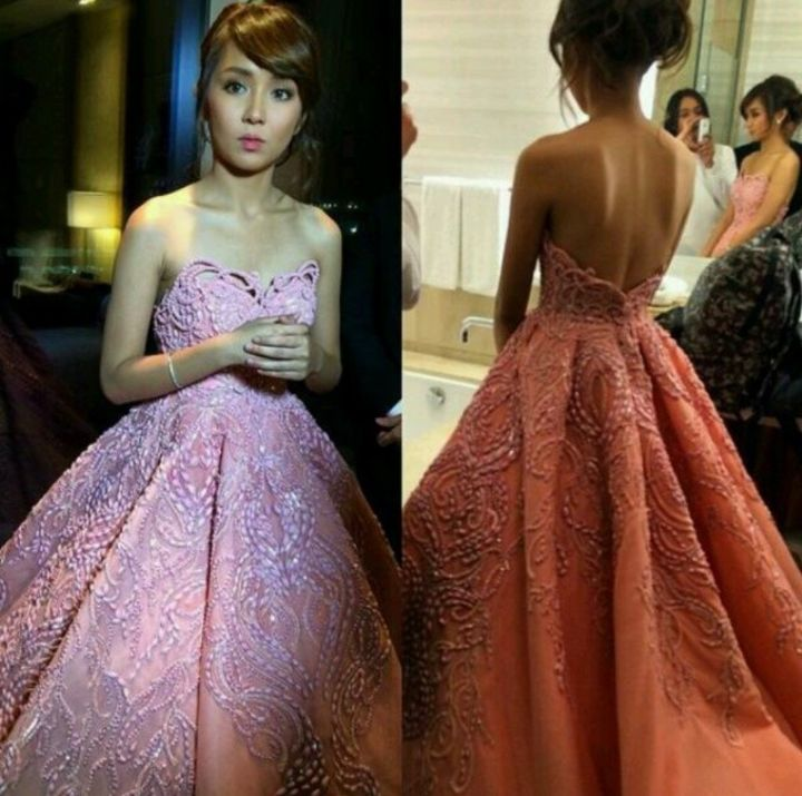 kathryn bernardo debut gown - Google Search