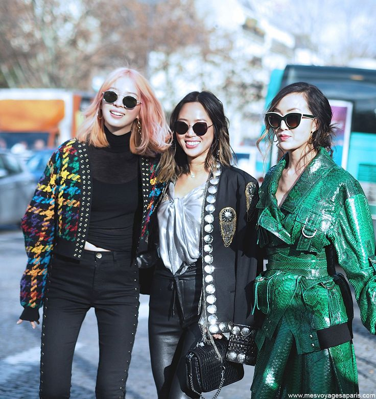 PFW STREET STYLE MARCH 2017 I Chriselle Lim, Aimee Song of style, Irene Kim at Paris Fashion Week.