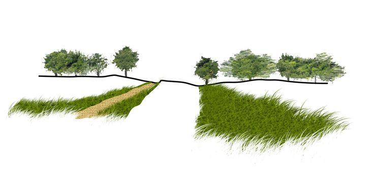 Slow mobility path design