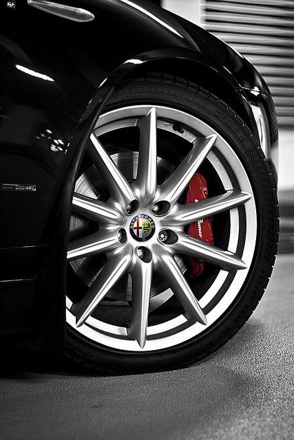 "icantgetmyusernameonthisshit:  Alfa Romeo 159 19"" Alloy Wheel by ChronowerX_GT on Flickr."