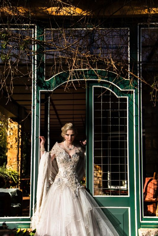 Dress tailor made by Immagika  creations historical dress at historical venue Shepstone Gardens
