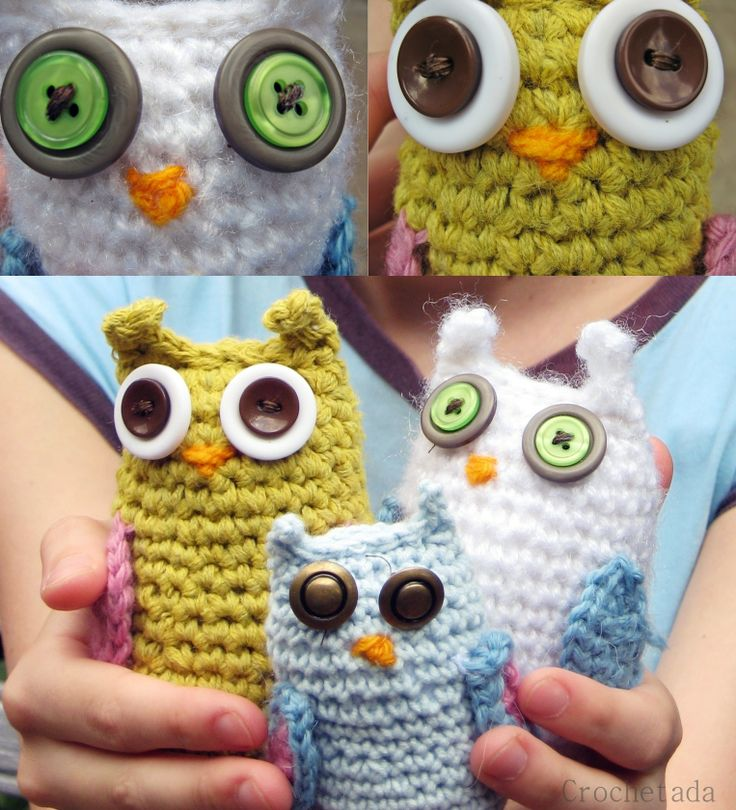 Crochet Family Owl
