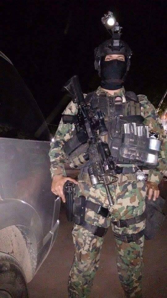 Fuerzas Especiales de la Armada de México (Marina).