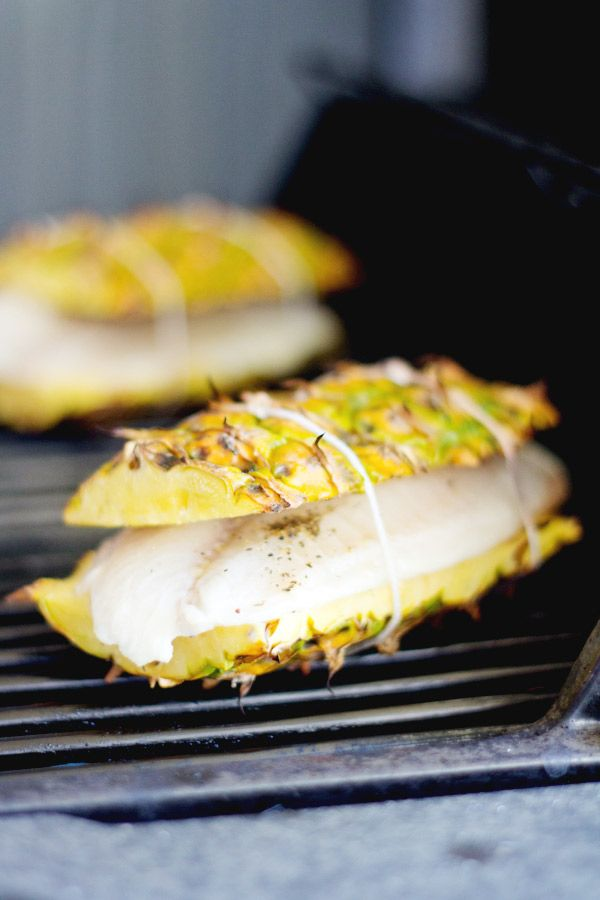 Grilled Pineapple Plank Tilapia | Lovely Indeed