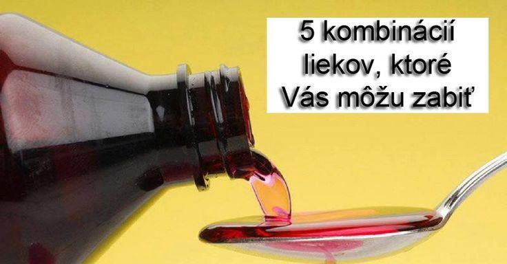Známy lekárnik odhalil aké lieky sa nesmú medzi sebou kombinovať. 5 smrteľných kombinácií! - chillin.sk