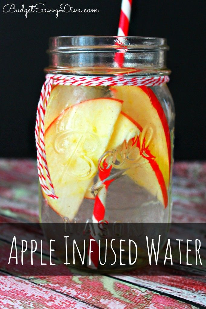 Apple Detox Infused Water Recipe