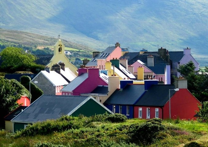 Eyeries, an iconic village of just 70 people perfectly captures the look and feel of  old world Ireland