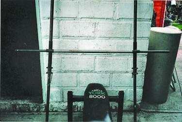 Bench press and track bar system