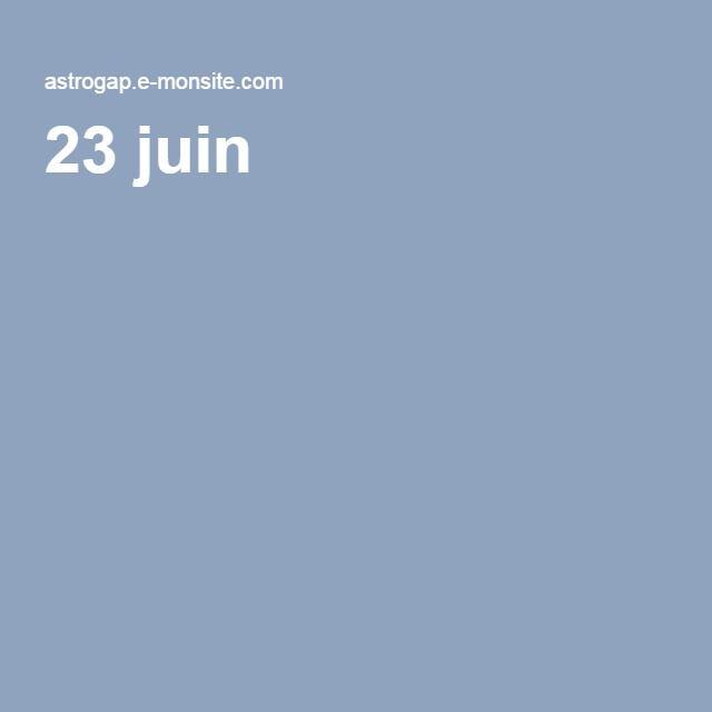 23 juin