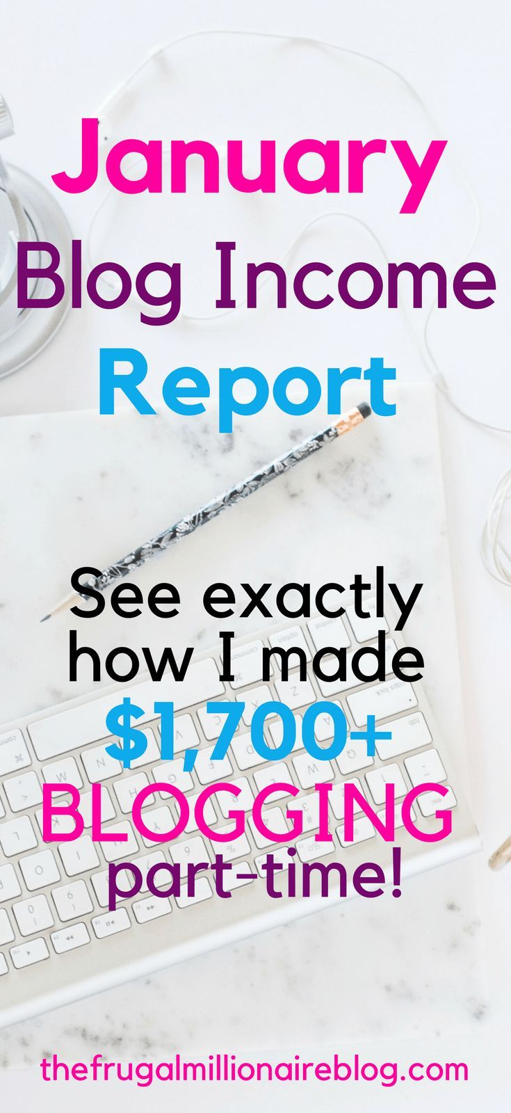I blog part-time and make between $1000-$3500+ per month! Here, I'm spilling all the details on how to make money blogging! If you want to start an income-earning blog, you have to read this report!!