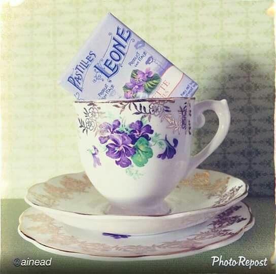 caramelle alla violetta