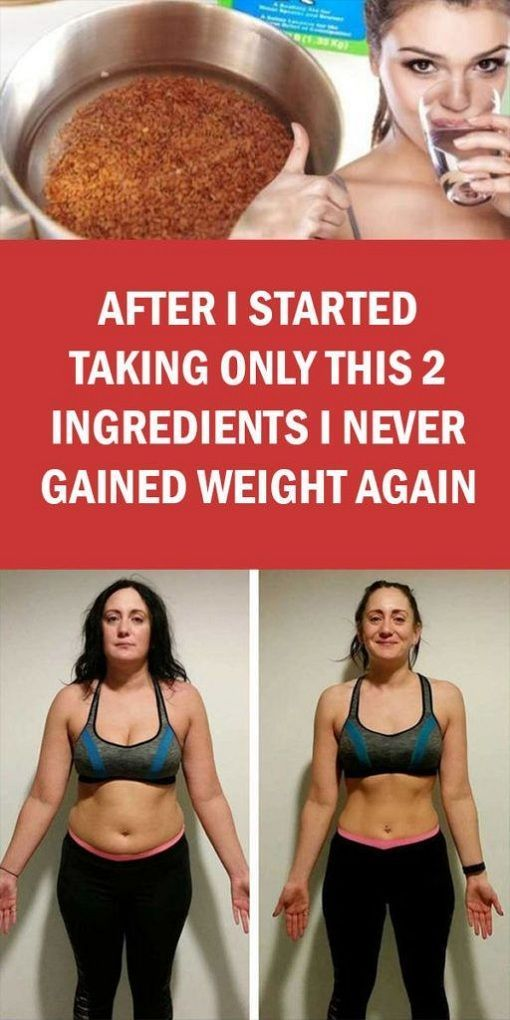 After I Started Taking Only This 2 Ingredients I Never Gained Weight Again
