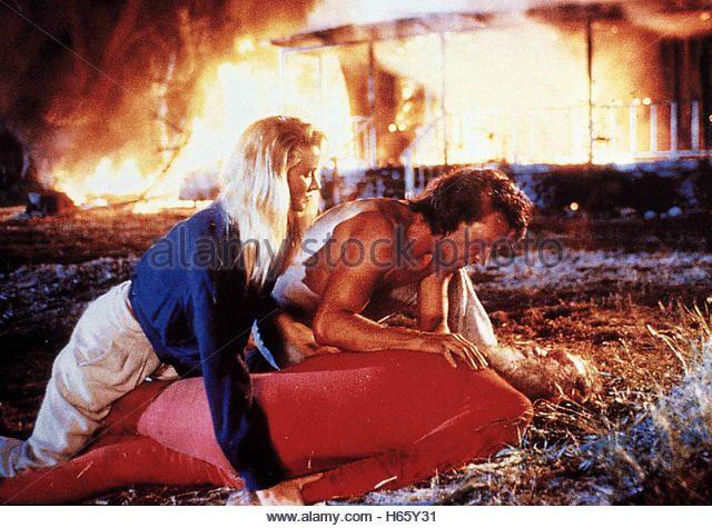 Road House, USA 1989, Director: Rowdy Herrington, Actors/Stars: Patrick Swayze, Kelly Lynch, Sam Elliott - Stock Image