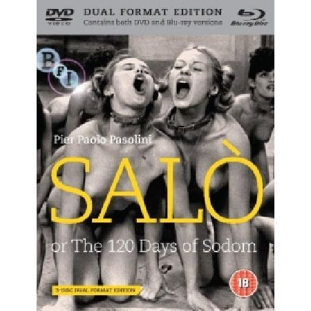Salo Blu-ray and DVD Please note this is a region 2 DVD and region B Blu-ray It will require a region B Blu-ray player to play the Blu-ray and DVD or a Region 2 DVD player for the DVD AKA The 120 Days Of Sodom The world3 http://www.MightGet.com/march-2017-2/salo-blu-ray-and-dvd.asp