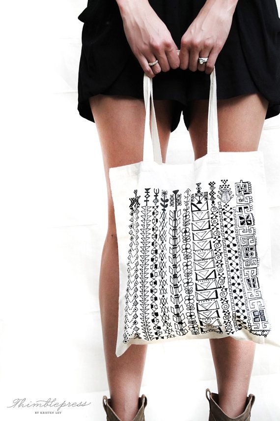 Great Things / Cotton Tote Bag