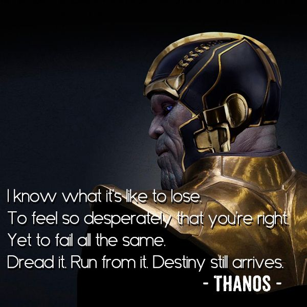 Image result for dread it run from it destiny still arrives
