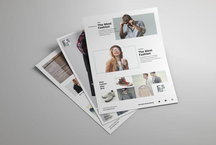 """查看此 @Behance 项目:""""Flyer Fashion""""https://www.behance.net/gallery/45393499/Flyer-Fashion"""