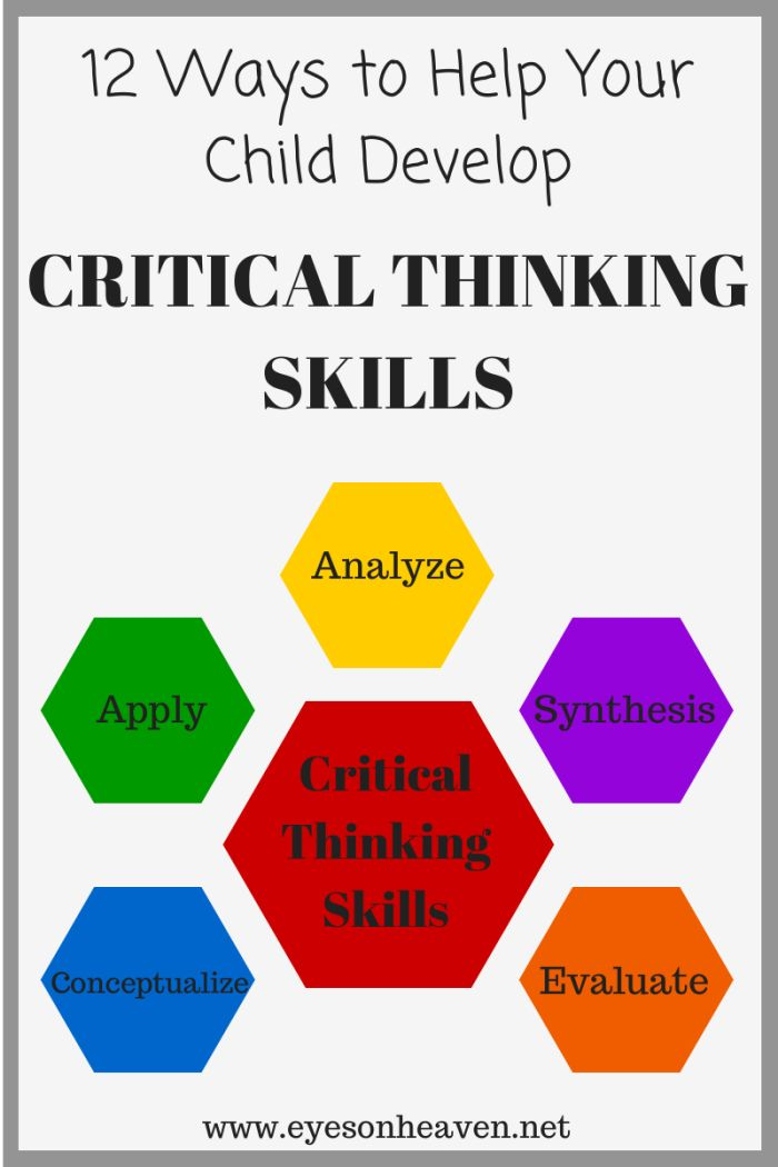 Critical thinking activities for adults