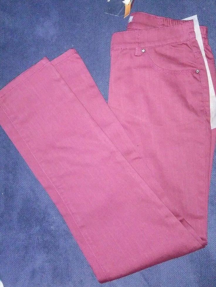 Damen Jeans Hose Jeanshose Rosa Bordeaux Pink von Himmelblau Gr. 18 M 36 S in Kleidung & Accessoires, Damenmode, Jeans | eBay!