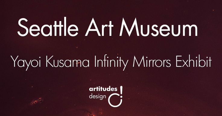 """The Seattle Art Museum's newest exhibit, """"Yayoi Kusama: Infinity Mirrors"""", is opening! The exhibit features Kusama's famous """"Infinity Mirror"""" rooms."""