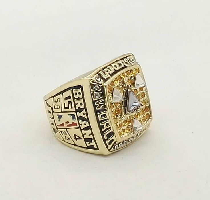 Now available in our store  2002 KOBE BRYANT ... Check it out here! http://championshipringsandmore.com/products/2002-kobe-bryant-basketball-championship-replica-rings?utm_campaign=social_autopilot&utm_source=pin&utm_medium=pin